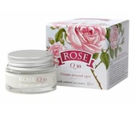 Bulgarian Rose Eye Cream with rose oil +Q10 15ml/0.51oz