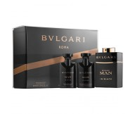 Bvlgari Man In Black Gift Set for Men