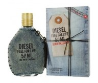 Fuel for Life Denim Collection Homme Diesel EDT Eau De Toilette for Men 50ml