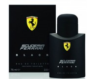 Scuderia Ferrari Black Ferrari EDT Eau De Toilette for Men 75ml
