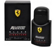 Scuderia Ferrari Black Signature Ferrari EDT Eau De Toilette for Men 40ml