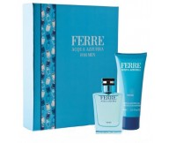 Gianfranco Ferre Acqua Azzurra Gift Set for Men