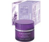 Night Cream Anti-Age LAVENDER Natural Product 50ml