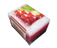Refan Peeling Cosmetic Soap-sponge Red Wine 80gr