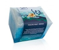 Refan Peeling Cosmetic Soap-sponge Sea 80gr