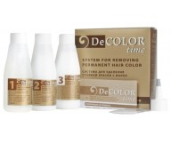 DECOLOR HairColor Remover/System for colour removal from a permanently dyed hair