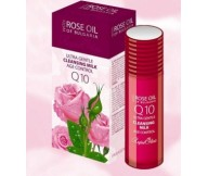Rose of Bulgaria CLEANSING MILK Q10 AGE CONTROL+Pure Bulgarian Rose oil 100ml/3.38oz