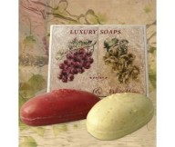 Refan Luxury soaps Red & White Wine 2x70g